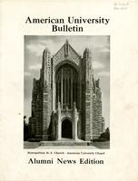 American Alumni Bulletin, Volume 14, Issue 03, December 1938