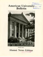 American Alumni Bulletin, Volume 14, Issue 06, March 1939