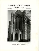 American Alumni Bulletin, Volume 17, Issue 01, October 1941