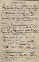 John F. Hurst diary entry, 27 May 1858