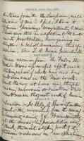 John F. Hurst diary entry, 08 April 1860