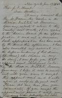 Letter from E.S. James to John F. Hurst, 19 June 1866