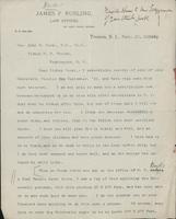 Letter from James F. Rusling to Bishop John F. Hurst, 17 September 1892