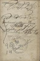John F. Hurst travel visa to Halle Germany, 1856