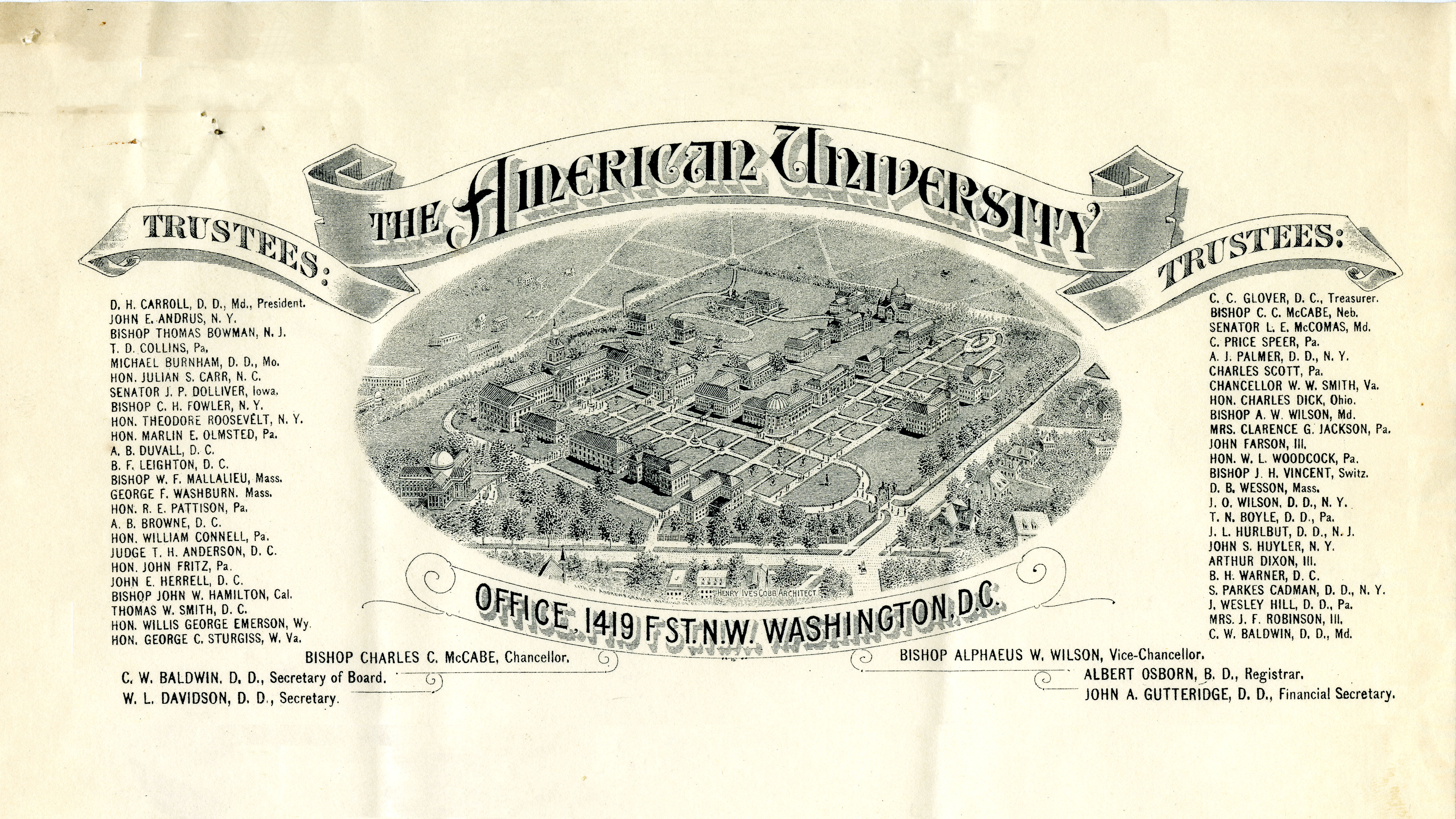 American University: The Formative Years