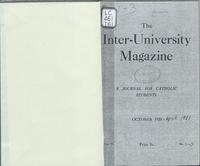 The Inter-University Magazine. Vol. 2