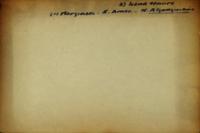 A) Land Tenure (1) Marginals - N. Amer. - N. Algonquians