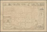 18th century map of George Town on Potomack