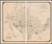 Boyd's map of the city of Washington and suburbs, District of Columbia