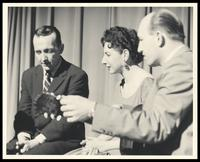 Felix Grant, Virginia Byrd and Charlie Byrd, WMAL-TV, Washington, D.C.