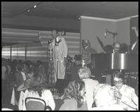 Felix Grant at Charlie's Georgetown, Washington, DC, 1981