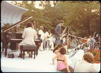 Dexter Gordon, Herbie Hancock, Tony Williams, Ron Carter, Dizzy Gillespie and George Benson perform at a jazz concert at the White House on the occasion of the 25th Anniversary of the Newport Jazz Festival, Washington, D.C., June 18, 1978