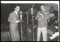 Felix Grant and Woody Herman at Club Kavakos, Washington, D.C.