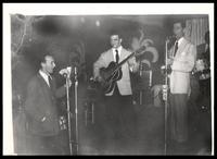 Felix Grant and band at Club Kavakos, Washington, D.C.