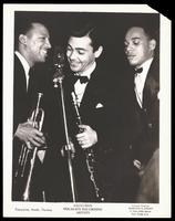 Group portrait of Eddie Tompkins, Willie Smith, Joe Thomas