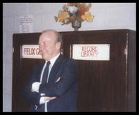 Felix Grant at the Jamaica School of Music, Kingston, Jamaica, 1978
