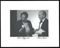 Felix Grant and Ella Fitzgerald at Blues Alley, Washington, DC, 1988