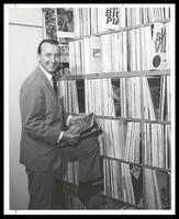 Felix Grant at home library