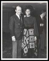 Felix Grant and Leslie Uggams, 1970