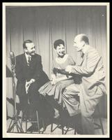 Felix Grant, Virginia Byrd and Charlie Byrd, WMAL-TV, Washington, D.C.