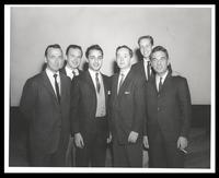 Felix Grant, Sal Mineo and Gene Krupa, Washington, D.C., 1959