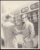 Felix Grant and Kai Winding at the Lorton Jazz Festival, Lorton, VA, 1966