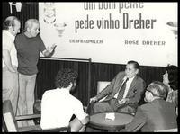 Felix Grant and Luiz Bonfá, Brazil, 1988
