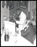 "Bill Harris and Felix Grant at ""A Roast of and Jam Session for Felix Grant,"" National Press Club, Washington, D.C., 1979"