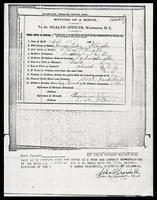 Duke Ellington's birth certificate, Washington, D.C., April 29, 1899