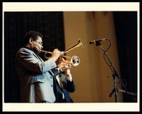 Dizzy Gillespie at The United States Air Force Band Guest Artist Series featuring Dizzy Gillespie at D.A.R. Constitution Hall, Washington, D.C., 1983