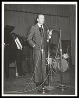 Felix Grant and Keter Betts at the Manassas Jazz Festival, Manassas, VA, July 1966