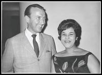 Felix Grant and Leny Andrade, Rio de Janeiro, Brazil, 1961