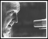 Felix Grant at microphone