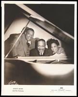 Group Portrait of Count Basie, Jimmy Rushing and Helen Humes