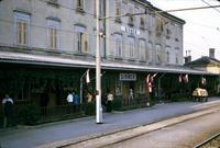 """""""Divaca"""" building in Divača, Yugoslavia"""